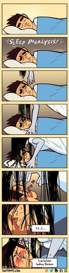 """Sleep Paralysis"" by RandoWis"