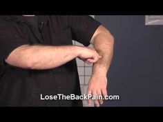Golfers Elbow Pain Relief - YouTube