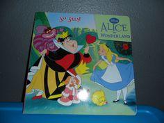 SO Silly! Alice in Wonderland Boardback Book Used Children's Book