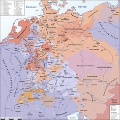 Religion in the Holy Roman Empire on the eve of the Thirty Years' War