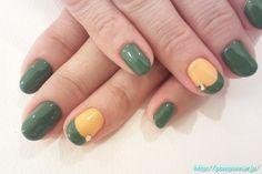 Green n gold....Go pack!!!!