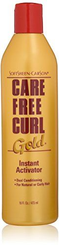 Softsheen Carson Care Free Curl Gold Instant Activator 16 Oz