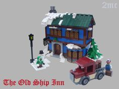 It's voting time! After the success of the first two Expand the Winter Village contests, the third edition is equally successful with 39 qualifying en. Lego Christmas Sets, Lego Christmas Village, Lego Winter Village, Lego Village, Gingerbread Christmas Decor, Christmas Scenery, Christmas Ideas, Holiday Ideas, Xmas