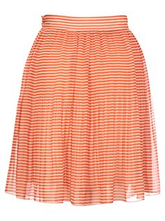 French Connection Primrose Striped Mini Skirt £49.50