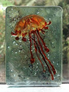 jelly fish  www.woventime.com
