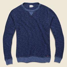 Marled Crewneck Sweatshirt - Indigo