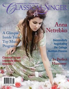 My friend edits for this, and she brought me a copy, because I LOVE anna netrebko