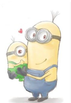 Minions 2014, Minions Quotes, Despicable Me, Beautiful Drawings, Mad, Illustration Art, Funny, Artwork, Cute