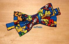 Superman Bowtie...Cake Smash...1st Birthday...Newborn Photo Prop...Wedding Ring Bearer...Superhero Party