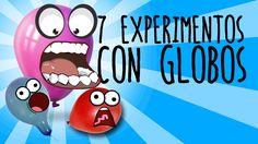 7 experimentos con globos para niños (RECOPILACIÓN)