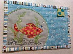 goldfish mugrug by ochil_lynz, via Flickr