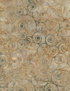 "Snail Shells 106"" Wide Batik Fabric; You Choose Size; B4014-Clay; Timeless Treasures; Tonga Extra-Wide Batiks; Backing Fabric; Quilt Back"