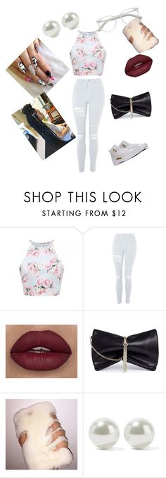 """""""Going to the mall with my best friend"""" by cicigivengift ❤ liked on Polyvore featuring Topshop, Chanel, Jimmy Choo, Kenneth Jay Lane and EyeBuyDirect.com"""
