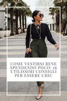 Come vestirsi bene spendendo poco ed essere chic anche con un piccolo budget. Sfrutta al massimo il tuo guardaroba per creare outfit di classe con poco. #moda #fashion #styletips #stylehacks #consiglidimoda #consiglidistile #stileitaliano #modaitaliana #modaover40 #modaover50 #over40 #over50 Chicano, Budget, Style, Italian Fashion, Elegant, Swag, Stylus, Budgeting