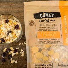 """""""Sabe a lo que tiene y además, tiene un sabor único, lo veo como un producto muy prtemium""""…  Testimonios de nuestros clientes que hicieron la prueba de sabor con el NUEVO Mix de Cereales #CUMEY  Puro sabor de la naturaleza, para ¡gente real!. . #tasty #cereal #desayuno #happy #avena  . Un producto con el sello @pronalce Cereal Mix, Sources Of Fiber, Mixed Nuts, Chia Seeds, Raisin, Oatmeal, Breakfast, Food, Fiber"""