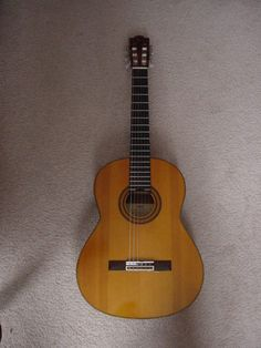 Yamaha G-231 II Classical Guitar.  I learned how to play guitar with this.