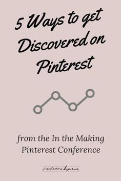 Getting discovered on Pinterest is simple, but it does require consistent effort and great content creation. In this blog post, I'm sharing 5 ways you can boost your Pinterest marketing strategy to get discovered on Pinterest. #vanessakynes #pinterestmark Business Advice, Business Entrepreneur, Business Marketing, Social Media Marketing, Online Business, Marketing Strategies, Email Marketing, Affiliate Marketing, Digital Marketing