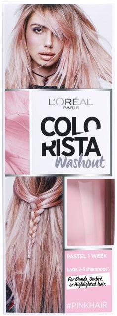 L'Oreal Paris Colorista Washout Pinkhair