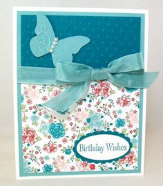 Butterfly Birthday by dmcarr7777 - Cards and Paper Crafts at Splitcoaststampers