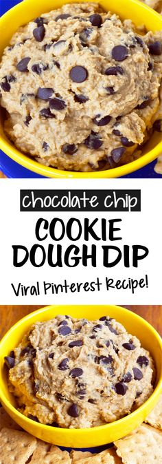 The Original Secretly Healthy Chickpea Cookie Dough Dip Recipe Chickpea Cookie Dough, Chickpea Cookies, Cookie Dough Dip, Healthy Cookie Dough, Cookie Dough Recipes, Oreo Dip, Almond Joy, Chocolate Chip Cookies, Chocolate Truffles