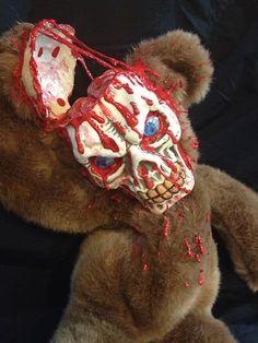 Zombie Horror Art | New and Used ooak horror art doll zombie teddy bear plush stuffed ...