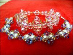 DIY accesorios de moda  pulseras con cristales - fashion accessories bra...
