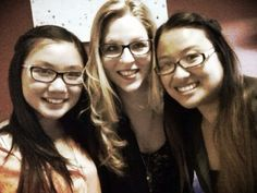Kelly, Steph and I!