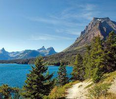 Two Medicine. lake in Glacier National Park Montana.  #everythingeverywhere by everythingeverywhere