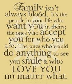 You are my family❤️