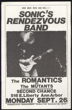 Probably my two favorite bands of all time (hint - not the Romantics)