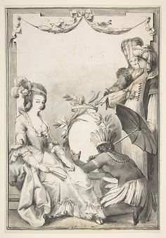 Allegorical Figures of the Four Continents.