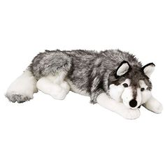 Ellie the Husky Plush is the perfect size for a cuddle. Kids and grown ups alike will love this Ellie the Husky dog plush. Wolf Stuffed Animal, Cute Stuffed Animals, Pet Puppy, Husky Dog, Freddy Plush, Plushie Patterns, Puppy Gifts, Hobby Horse, Pikachu