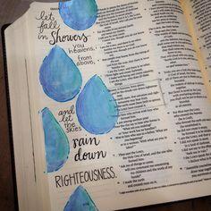 Scripture art in Isaiah - Facebook Journaling Bible Community