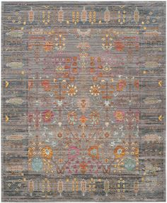 Features: -Can be used on wood floors. -Power loomed. Rug Shape: -Rectangle. Technique: -Machine woven. Material: -Synthetic. Product Type: -Area Rug. Material Details: -Polyester. Product Car