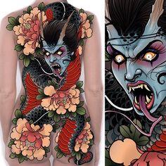 "New ""droman"" (dragon/woman) full back/bum design up for grabs!! #tattoodesign #tattooart #tattoo #tattoos #tattooist #tattooing #tattooed #tattooer #tattooartist #tattooworkers #snake #snaketattoo #woman #peony #flowers #dragon #dragontattoo #backpiece #backtattoo #ink #art #drawing #illustration #uktta #uk #neojapanese #japanesetattoo #newtraditional #neotradsub #neotraditional"