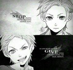 """""""Non puoi impedire alle persone di sparlare di te. Quindi tanto vale dare loro qualcosa dibcui parlare."""""""