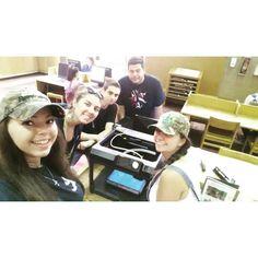 Something we liked from Instagram! 3-D printer selfie!  #newfriends #selfie #sjc100 #freshmans #sjcny #3dprinter #wecool #college #callahanlibrary #longisland @sjcny by countryhoney16 check us out: http://bit.ly/1KyLetq