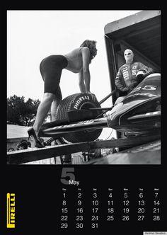 lara stein pirelli kalender