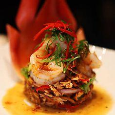 Banana Flower Salad Appetizer Recipes, Appetizers, Banana Flower, Food Plus, Thai Restaurant, Taste Buds, Food Ideas, Salad, Diet