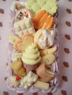 Go Bananas Kawaii Decoden Deco Case for iPhone 4 4s