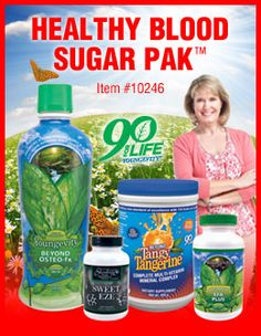 Youngevity Products: Healthy Blood Sugar Pak Product Spotlight from Youngevity