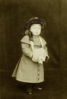 Little Margaret Connaught, later Crownprincess of Sweden.