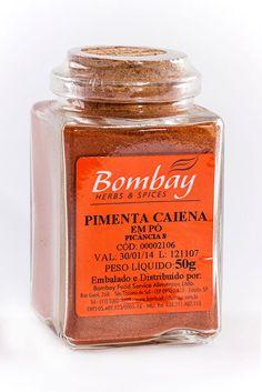 Pimenta Caiena em pó - Pimenta Caiena ‹ Bombay
