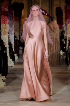 See our favorite colored wedding dresses from the best bridal designers—from red wedding dresses to pink wedding dresses to black wedding dresses! Reem Acra Wedding Dress, Reem Acra Bridal, Colored Wedding Dresses, Bridal Wedding Dresses, Bridal Style, Bridal Collection, Dress Collection, Spring Collection, Belle Silhouette