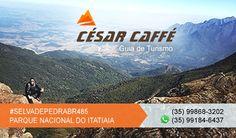 César Caffé - Guia de turismo credenciado pelo Parque Nacional do Itatiaia. Trilhas, circuitos e travessias. Guia de turismo em Itamonte e PNI. Itamonte.net