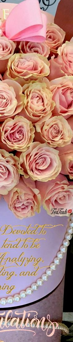 Wishing you & Isabella a future filled with love, joy and laughter. xo T Box Roses, Heavenly, Bouquets, Laughter, Flora, Congratulations, Anna, Birthday Cake, Joy