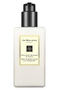 Jo Malone London Jo Malone™ 'Nectarine Blossom & Honey' Body & Hand Lotion available at #Nordstrom