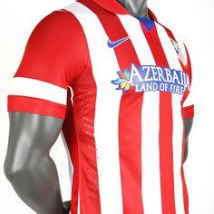 Primera equipación del @Esto es Atleti podcast rojiblanco 2012-13