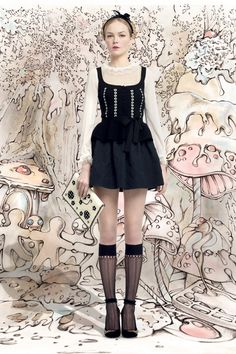 Red Valentino | Fall 2013 Ready-to-Wear Collection | Style.com