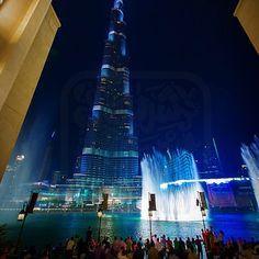 #Dubai Mall Fountain. Photo Credit: Sherif Ismail #DubaiTag
